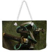 Snake And Sword Weekender Tote Bag