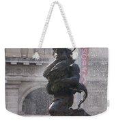 Snake Fountain Weekender Tote Bag