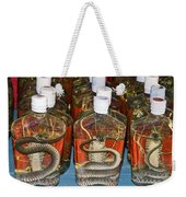 Snake In A Bottle Weekender Tote Bag