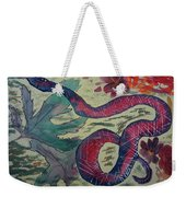 Snake In The Garden Weekender Tote Bag
