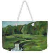 Snake Like Creek 2 Maine Weekender Tote Bag