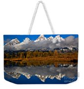 Snake River Fall Reflections Weekender Tote Bag