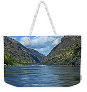 Snake River Hells Canyon Weekender Tote Bag