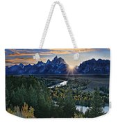 Snake River Overlook Weekender Tote Bag