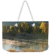 Snake River Sunrise Weekender Tote Bag