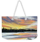Snake River Sunset Weekender Tote Bag
