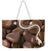 Snake Skeleton  Weekender Tote Bag by Garry Gay