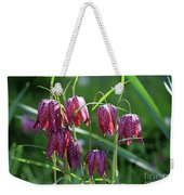 Snakes Head Flowers Weekender Tote Bag