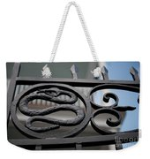 Snakes On A Gate Weekender Tote Bag