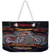 Snap-on Chopper Weekender Tote Bag