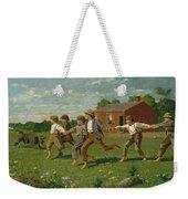 Snap The Whip The Met Weekender Tote Bag