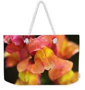 Snapdragon Flowers Weekender Tote Bag
