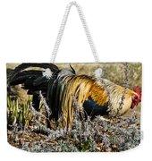 Sneeking Rooster Weekender Tote Bag