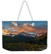 Sneffels Autumn Sunrise Weekender Tote Bag