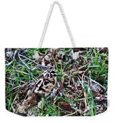 Snipe In Camouflage 2 Weekender Tote Bag