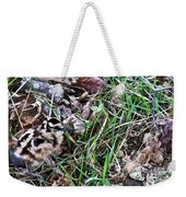 Snipe In Camouflage Weekender Tote Bag