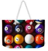 Snooker Balls Weekender Tote Bag
