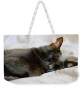 Snoozy Kitty Weekender Tote Bag