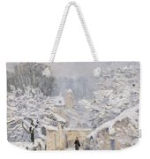 Snow At Louveciennes Weekender Tote Bag by Alfred Sisley