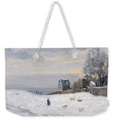 Snow At Montmartre Weekender Tote Bag