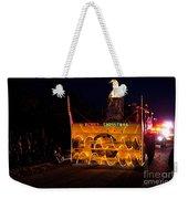 Snow Blower As Float In Shipshewana Light Parade Weekender Tote Bag