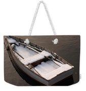Snow Boat Weekender Tote Bag
