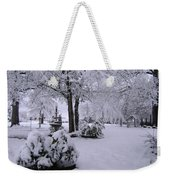 Snow Bush Weekender Tote Bag