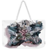 Snow Capped Cloth Weekender Tote Bag