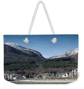 Snow Capped Mourne Mountains Weekender Tote Bag