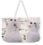 Snow Cats Weekender Tote Bag