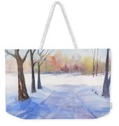 Snow Country Weekender Tote Bag