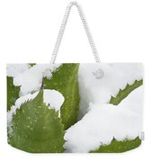 Snow Covered Agave Weekender Tote Bag