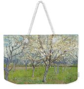Snow-covered Field With A Harrow After Millet Saint Remy De Provence, January 1890 Vincent Van Gog Weekender Tote Bag
