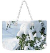 Snow Day Weekender Tote Bag