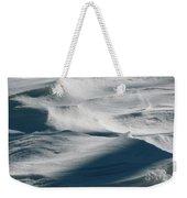 Snow Drift Weekender Tote Bag