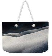 Snow Drift On The Beach Weekender Tote Bag