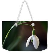 Snow Drop Weekender Tote Bag