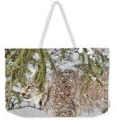 Snow Fall Weekender Tote Bag