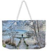Snow Fantasy Weekender Tote Bag