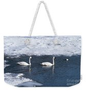 Snow Geese On The Move Weekender Tote Bag