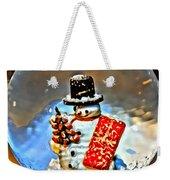 Snow Globe Weekender Tote Bag
