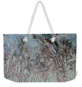Snow Grass Happiness Weekender Tote Bag