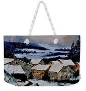 Snow In Ardennes 79 Weekender Tote Bag