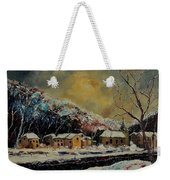 Snow In Bohan Weekender Tote Bag