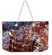 Snow In Bryce Canyon Weekender Tote Bag