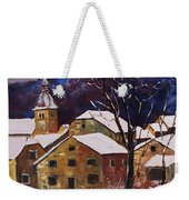 Snow In Chassepierre  Weekender Tote Bag