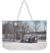 Snow In Plymouth Meeting Weekender Tote Bag