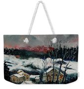 Snow In Sechery Redu Weekender Tote Bag