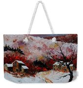 Snow In The Ardennes 78 Weekender Tote Bag