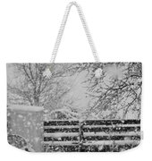 Snow In The Country Weekender Tote Bag